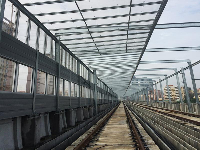 鐵路聲屏障